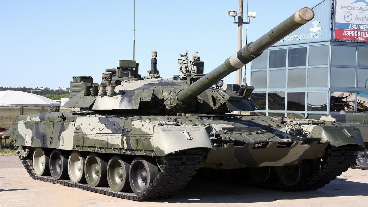 Image 1-T-80U Main Battle Tank