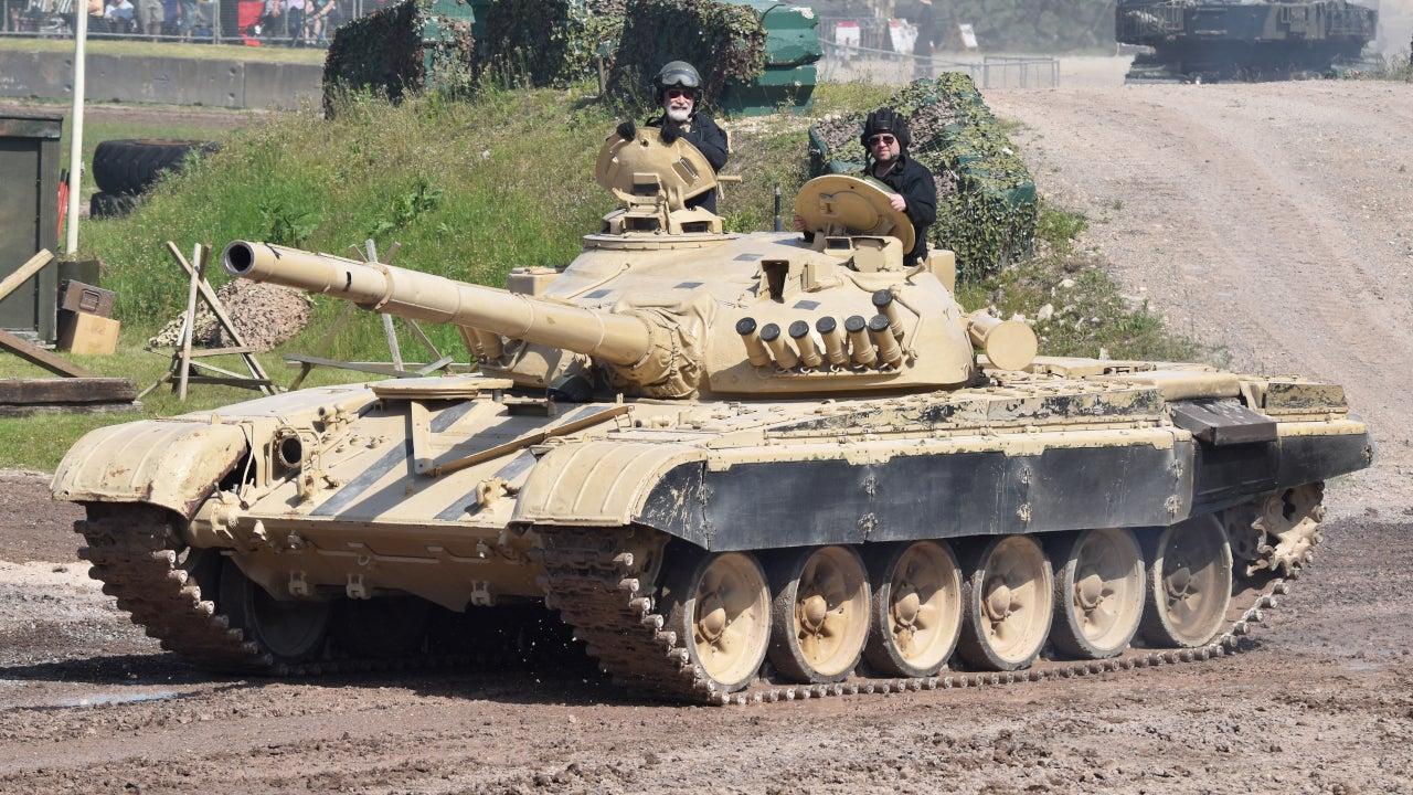 Image 1-T-72S Main Battle Tank