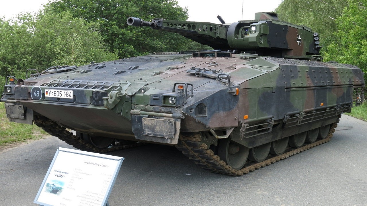 Puma AIFV Tracked Armoured Infantry Fighting Vehicle - Army Technology