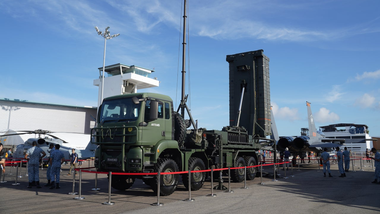 Image 1- Aster 30 SAMPT Surface-to-Air Missile Platform – Terrain