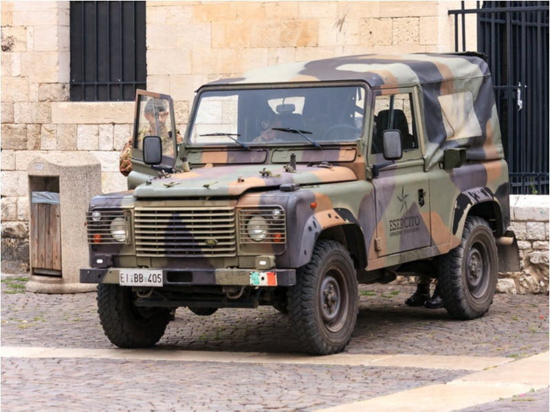 Land Rover Wolf 4x4 Military Vehicle