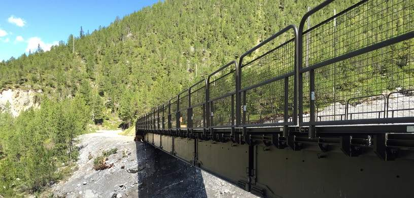 WFEL's Dry Support Bridge with Walkways