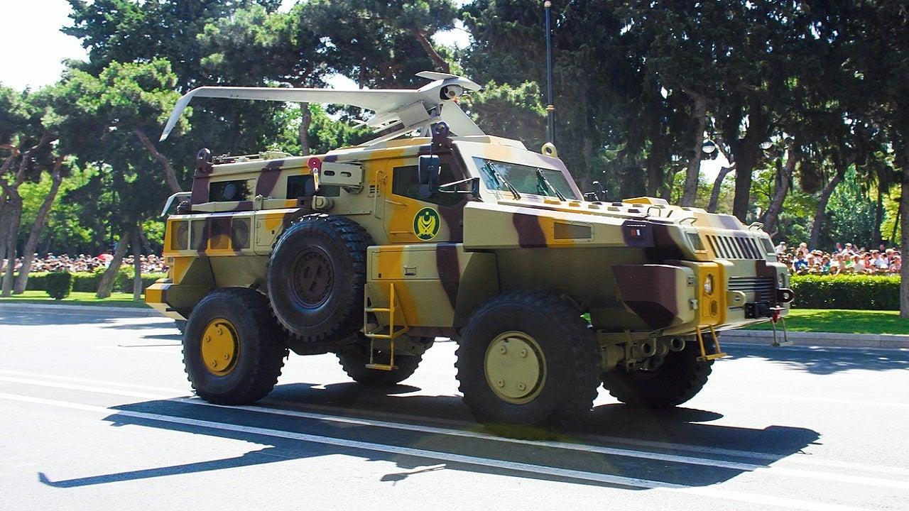 Image 2-Paramount Marauder Mine Protected Vehicle