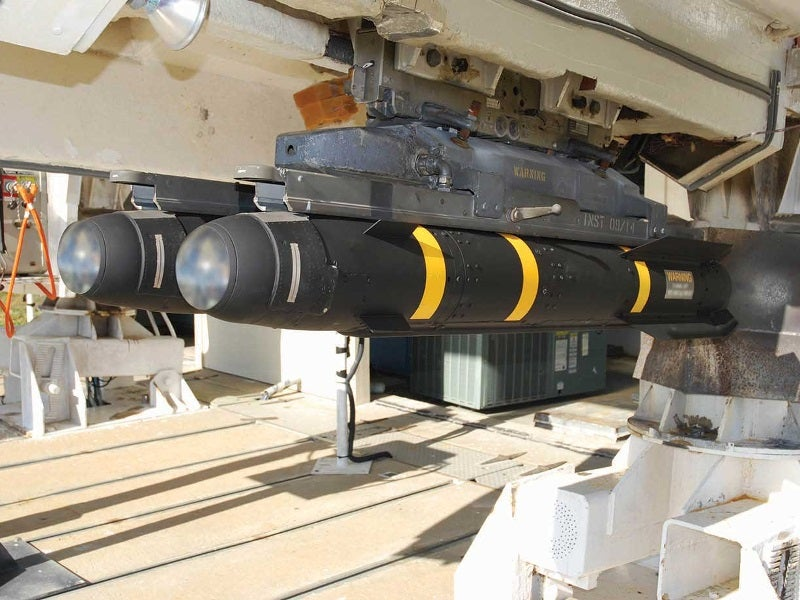 The AGM-114 Hellfire missiles family includes Hellfire II and Longbow Hellfire missiles. Image courtesy of USAASC.