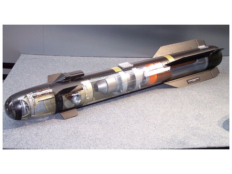 AGM-114 Hellfire II missile components