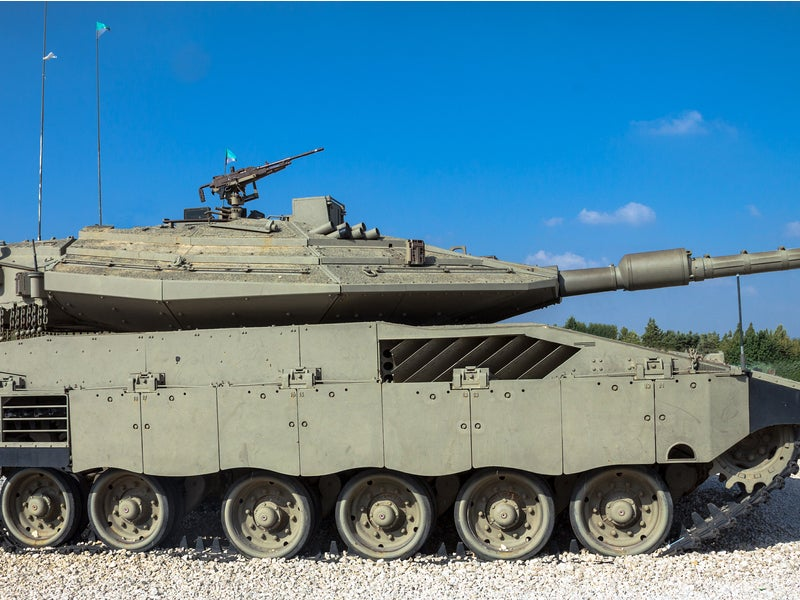 Merkava 4 Israel Defence Forces Main Battle Tank