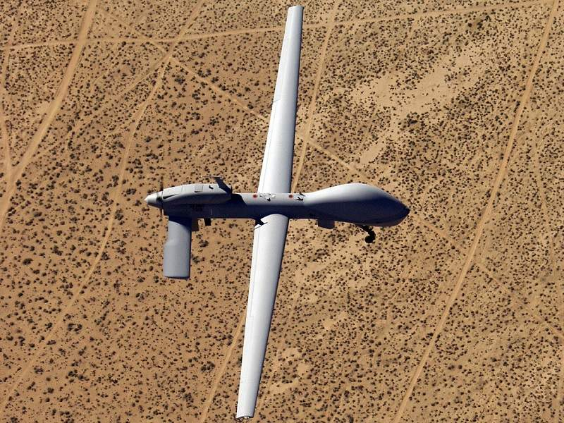 MQ-1C Gray Eagle is an extended range / multipurpose (ER/MP) unmanned aircraft system (UAS). Image courtesy of U.S. Army.