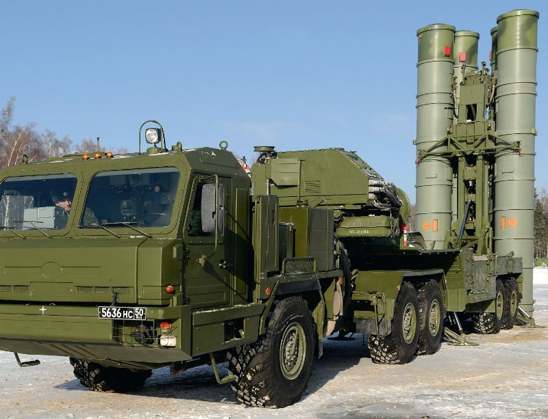 The S-400 Triumph defence system entered service with the Russian Army in April 2007. Credit: Rosoboronexport.