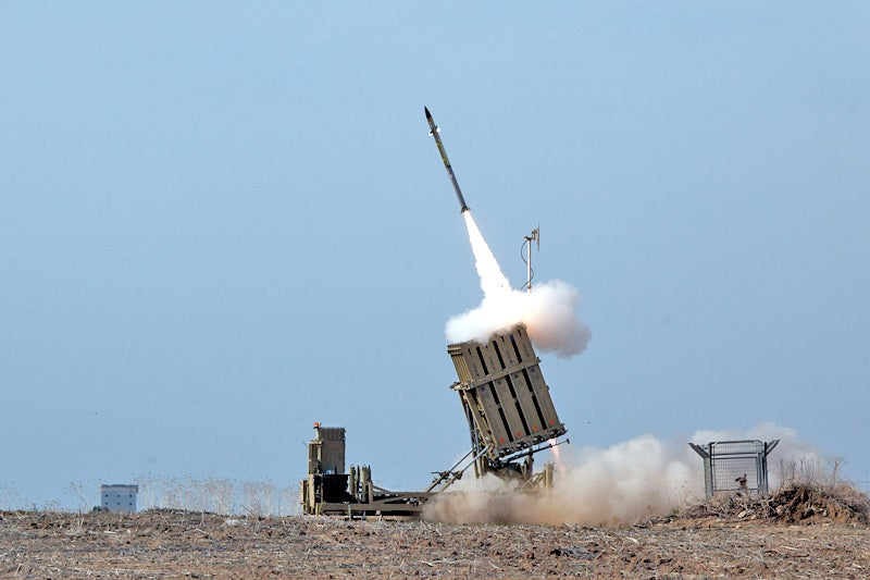 Iron Dome is a mobile air defence system developed by Rafael Advanced Defence Systems. Credit: Israel Defense Forces / Flickr.