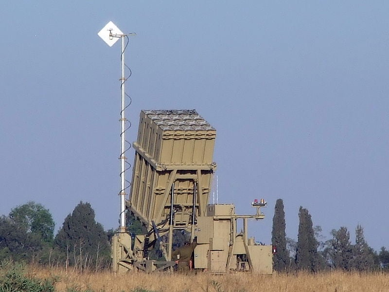 Iron Dome Air Defence Missile System