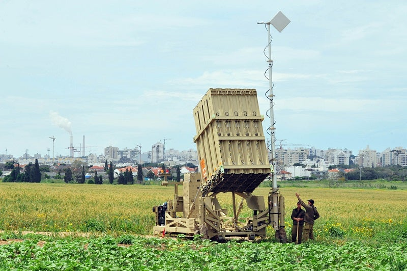 Iron Dome can intercept rockets with ranges between 5km and 70km. Credit: ChameleonsEye on Shutterstock.