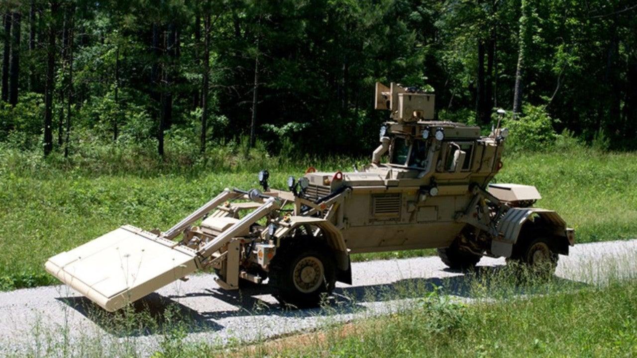 Image 3-Husky Vehicle Mounted Mine Detector (VMMD)