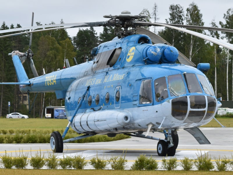 Mi-17 is an advanced version of the Mi-8 helicopter.