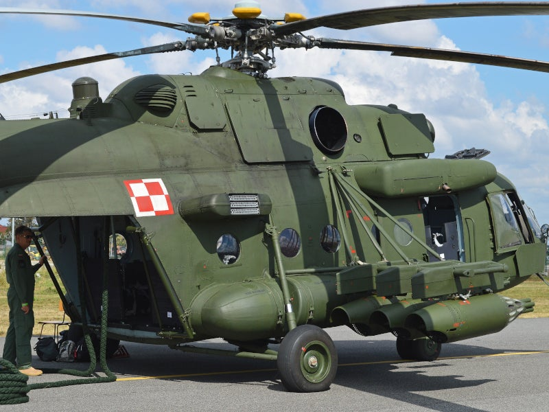 The helicopter is available as both civil and military variants.