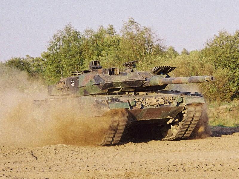 Image 1-Leopard 2 Main Battle Tank