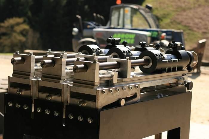 Burst Fire Gun for UK Armour testing