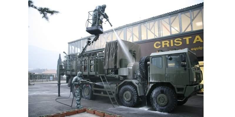 CBRN deontamination sprays