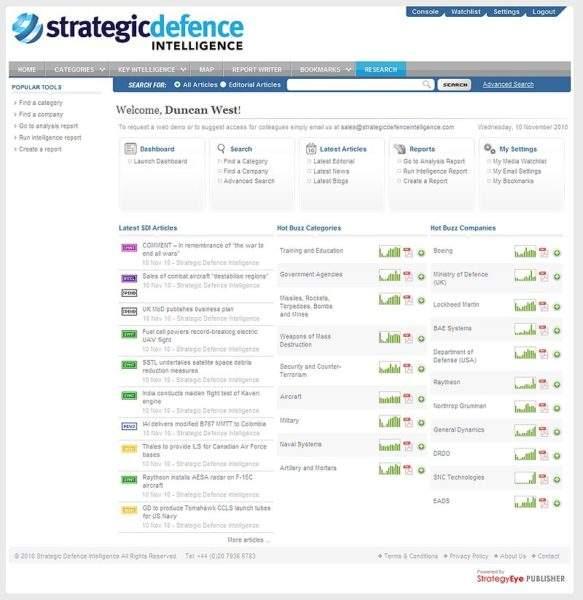 Strategic Defence Intelligence Army Technology