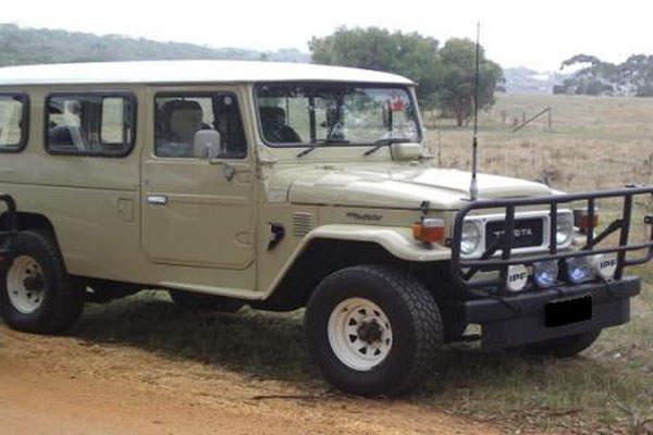 The 45 series (circa 1981) as a military vehicle.