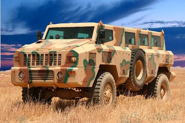 The Matador mine-protected vehicle is produced by Paramount Group, which is based in South Africa.