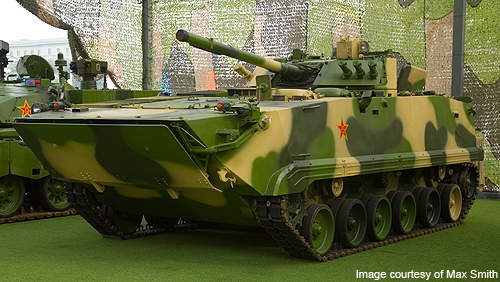 The ZBD-97 is in service with the Chinese Army.