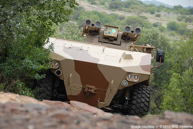RG41 is a new-generation combat vehicle that emphasises combat power.