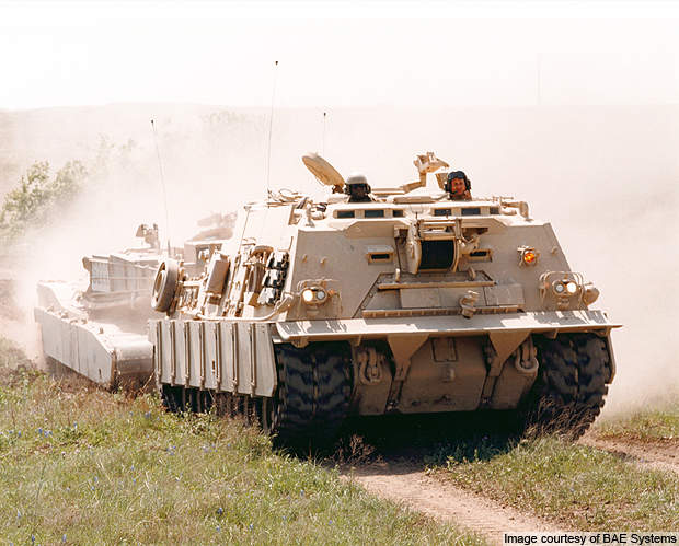 The HERCULES armoured recovery vehicles were introduced into the US Army in 1997.
