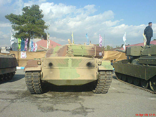 The Zulfiqar I MBT, developed with indigenous parts, was revealed to the public in 1994.