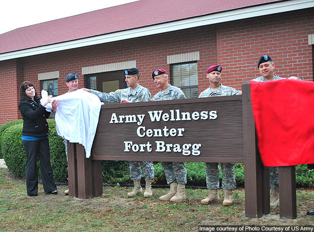 A new Army Wellness Center was opened in November 2010.