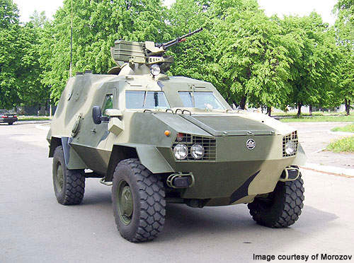 Dozor B 4x4 APC entered into service in 2007.