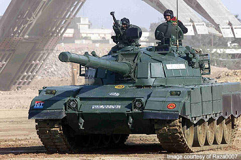Al-Zarrar is the main battle tank of the Pakistan Army which entered into service in February 2004.