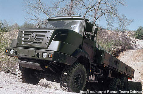 4×4 tactical off-road vehicle