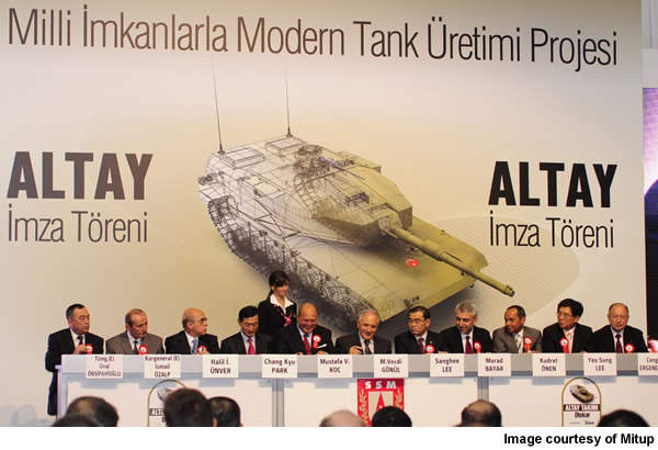 The Altay is the first indigenously developed MBT of Turkey.
