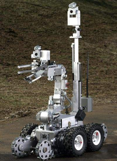 Remotec ANDROS F6A robot used for bomb disposal