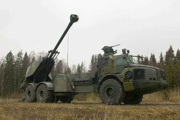 The BAE Systems Bofors Archer FH77 BW L52 155mm self-propelled howitzer.