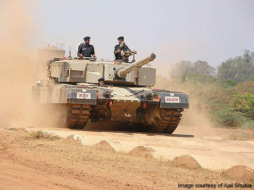 The Indian Army has ordered a total of 248 Arjun MBTs.