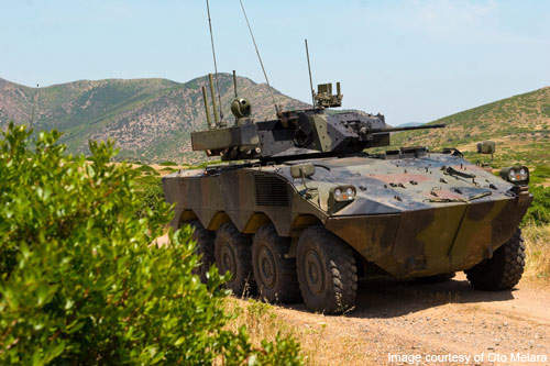The VBM Freccia IFV is manufactured in six variants: armoured personal carrier, ATGW carrier, mortar carrier, command vehicle, armoured ambulance and recovery vehicle.