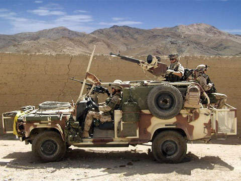 Ballistic Protection Armour