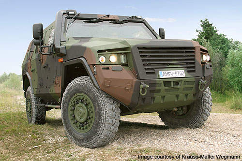 Full-scale production of the AMPV will commence at the end of 2011.