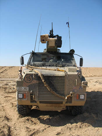 Vehicle mounted fire control system from fcs