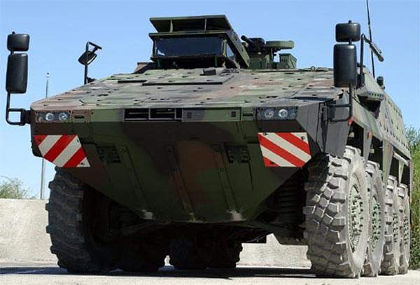 The ARTEC Boxer is scheduled to enter service with the German Army in 2009 and is one of three vehicles selected to take part in the FRES utility vehicle Trials of Truth.