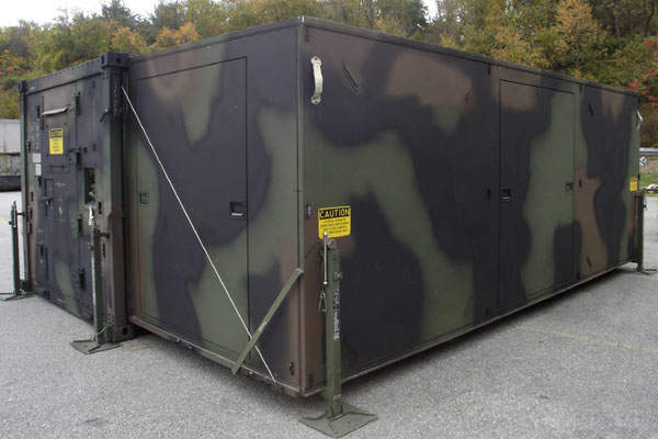 Tactical Shelter Systems : Gichner systems group army technology