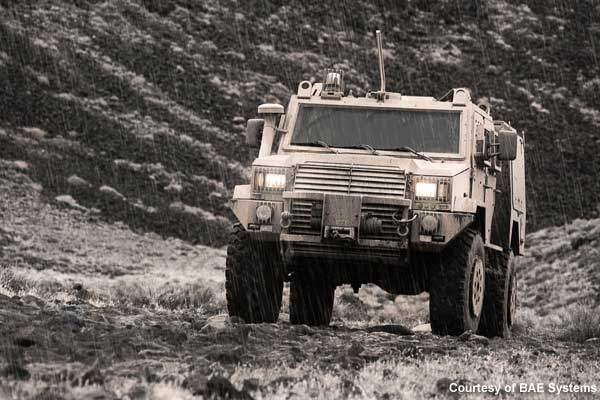 RG Outrider is a light armoured vehicle designed and developed by BAE Systems.