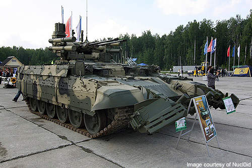 The BMPT entered into service in 2005.
