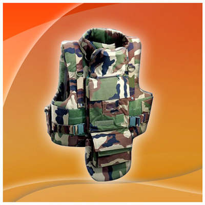Lightweight small arms protection vest