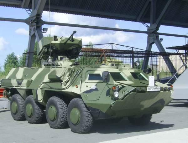 The BTR-4 Armoured Personnel Carrier (APC) was developed and manufactured by the Enterprise Kharkiv Morozov Machine Building Design Bureau (SOE KMDB). Image courtesy of the Kharkiv Morozov Machine Building Design Bureau.