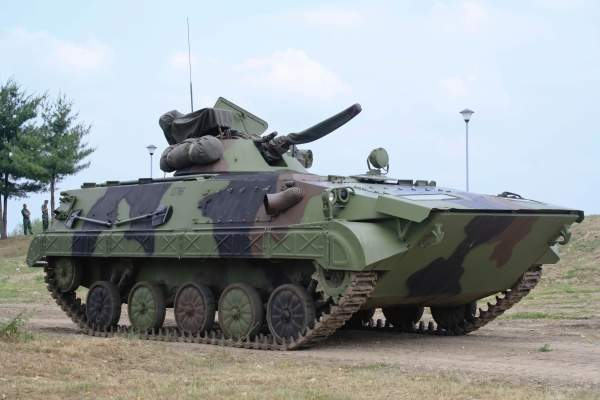 The BVP M-80A Infantry Fighting Vehicle (IFV) of the Serbian Armed Forces. Image courtesy of Kos93.
