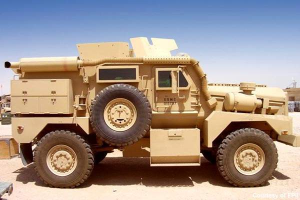 The Cougar 4×4 will form the basis for the Ridgback.