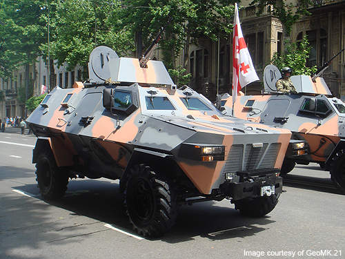 Didgori is a new armoured personnel carrier of the Georgian Army.