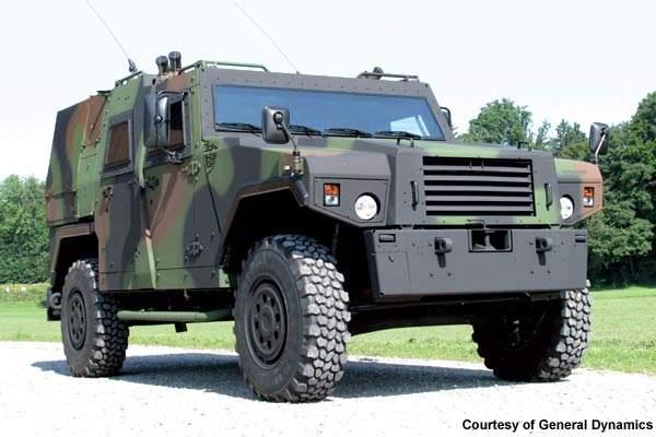EAGLE Protected Ambulance Vehicle